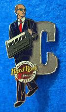 ATLANTA JOE JACKSON MUSICIAN LETTER SERIES C KEYBOARD Hard Rock Cafe PIN LE