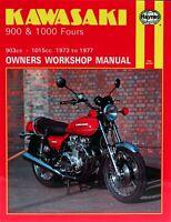 Haynes Workshop Manual Kawasaki Z900 Z1000 Z1 KZ1000 1973-1977 Service Repair