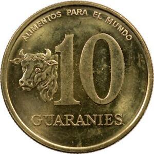 PARAGUAY - 10 GUARANIES - 1996 - GENERAL GARAY - FAO