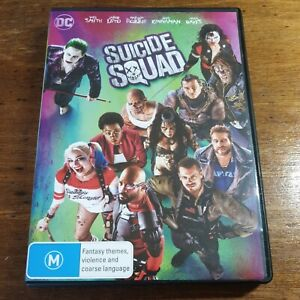 Suicide Squad DVD DC R4 Like New! FREE POST