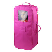 Doll Travel Carrier Carry Bag Storage Case Backpack for 18 inch dolls Handmade