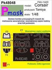 F4U-1A/D CORSAIR PAINTING MASK TO TAMIYA KIT #48048 1/48 PMASK