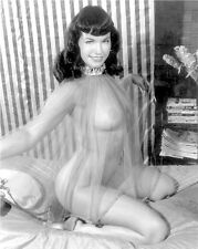 BETTIE PAGE 8 X 10 PHOTO GLOSSY # 32