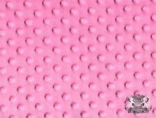 "Minky Dimple Dot Fabrics / 60"" wide / Sold By the Yard Baby Blanket"