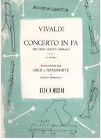 Vivaldi: Concerto IN Fa Für Oboe, Bögen E Becken (Ephrikian) - Erinnerungen