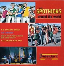★☆★ CD SINGLE The SPOTNICKS	Around the world - I'm coming home - EP - 4-tr ★☆★