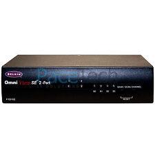Belkin Ominview SE 2 Port KVM Switch PS/2 F1D102u Business Series Brand new