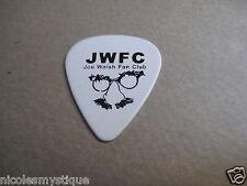 Jwfc Joe Walsh Fan Club Signature Guitar Pick The Eagles