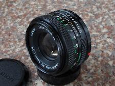 Canon FD 50mm F1.8 lens