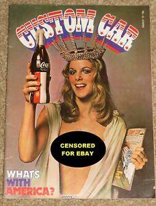 Custom Car Magazine March 1972 - NHRA SUPERNATIONALS, TRANS AM 455, C CAB, JEEPS