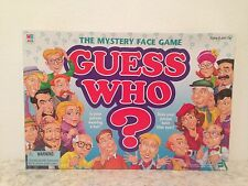 1998 MILTON BRADLEY GUESS WHO? THE MYSTERY FACE GAME COMPLETE