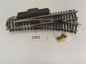 MÄRKLIN 2263 K-Gleis Elektrische Weiche rechts r424,6 mm #NEU# 1 Stück#