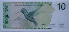 Netherlands Antilles P-23a 10 gulden 1986