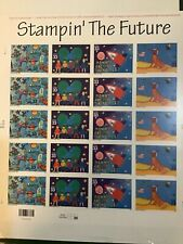 US Stamps SC# 3414-17 Stampin' the Future 33c sheet of 20 SA MNH 2000