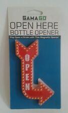 GAMA GO Open Here Magnetic Bottle Opener