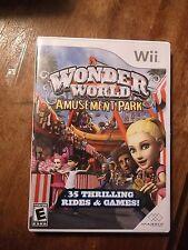 Wonder World Amusement Park (Nintendo Wii, 2008) Wii COMPLETE