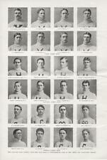 The Harvard-Yale-Cornell Four Mile Boat Race at Poughkeepsie  -  1897