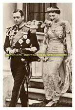 "mm584 -Duke of Kent & Princess Marina on way to coronation King GVI - photo 6x4"""