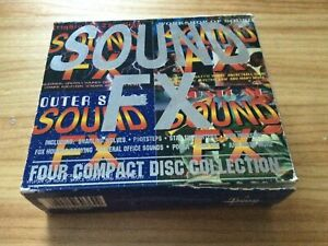 RARE! SOUND COLLECTION: 400 SOUND EFFECTS - 4x AUDIO SAMPLE CD