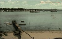 Groton CT From New London  c1910 Postcard