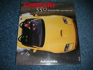 FERRARI 550 BARCHETTA PININFARINA AUTOMOBILIA BOOK ENGLISH FRENCH ITALIAN