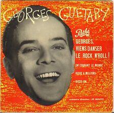 "GEORGES GUETARY ""GEORGES, VIENS DANSER LE ROCK N' ROLL"" 50'S EP PATHE EG 224"