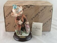 Giuseppe Armani Disney Dopey's New Friend 1259C in Box Hand Signed - Read