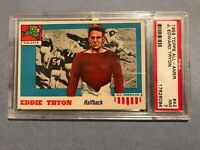 1955 Topps All-Amer. #42 Eddie Tryon PSA NM 7 (R)  SP