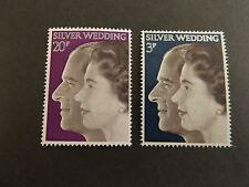 GB MNH STAMP SET 1972 Royal Silver Wedding SG 916-917 UMM