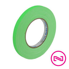 """ProTapes Pro Gaff NEON GREEN GAFFERS SPIKE TAPE 1/2"""" x 45 yd Roll"""