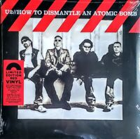 """U2  HOW TO DISMANTLE AN ATOMIC BOMB - 180 GRAM RED VINYL """" NEW, SEALED """""""