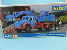 Kibri H0 14130 MAGIRUS Eckhauber mit Baggeraufbau