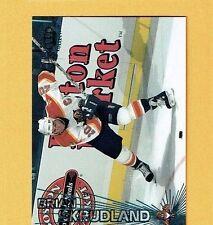 1997-98 Pacific EMERALD GREEN # 295 Brian Skrudland Canadian FLORIDA PANTHERS