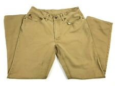 POLO Ralph Lauren Khaki Chino Straight Fit Pants 32x30 Casual Cotton Dungarees