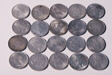 Full Roll of 20 Peace Silver Dollars - VF - XF - Mixed Dates