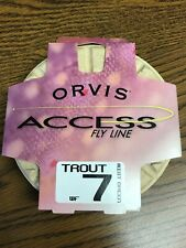 Orvis Access Fly Line WF-7 - Mist Green