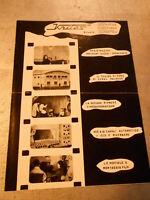 Vecchia pubblicita' LISTINO PREZZI KRITES STUDIO SUOMI PROD.CINEMAT. -vintage CO