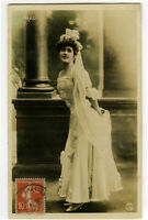 c 1908 French Theater Cabaret Music Hall BEAUTY BRESIL photo postcard
