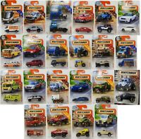 MATCHBOX DIE CAST CAR COLLECTION 22 VEHICLES - CHOOSE YOUR FAVORITE - NEW PACK