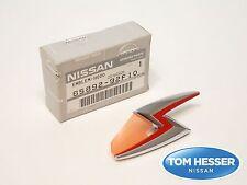 "JDM Nissan 99-02 S15 Silvia 240SX ""S"" Lightning Bolt Hood Emblem Genuine OEM"