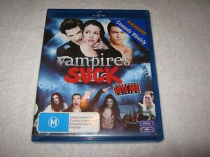 Vampires Suck - Extended Edition - Blu-Ray Ex-Rental - Region B