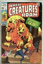 Where Creatures Roam #7-1971 vg+ Jack Kirby Steve Ditko