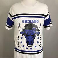 CHICAGO BULLS LOGO NBA HIP-HOP BASKETBALL T SHIRT MENS SIZE 2XL