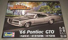 Revell '66 Pontiac GTO 1/25 scale model car kit new 4479 *