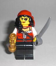 LEGO Pirates - Piraten Prinzessin - Minifig Pirate Princess Schatzinsel 70411