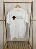 VTG Skoal Shootout Bandit Racing Single Stitch FOTL 50/50 T-Shirt Size XL USA