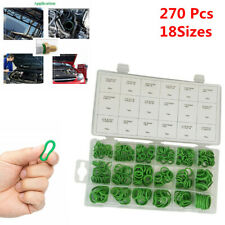 270Pcs 18 Sizes A/C System O-Ring Assortment Kit Gasket Seals Washer Rapid Seal