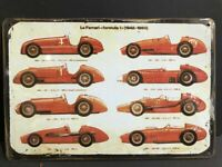 Ferrari 250GT Retro replica vintage style metal tin sign gift garage
