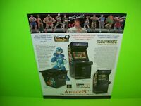 Capcom Classics ARCADE PC Original Video Arcade Game System Flyer Street Fighter