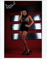 DANA MARIE hand-signed HOT LEGS HIGH HEELS PORTRAIT 8x10 uacc rd coa IN-PERSON